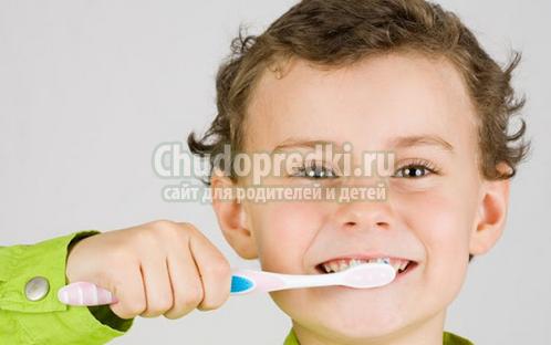Детские зубы и уход за ними