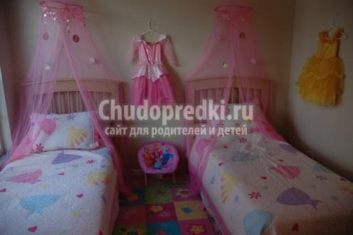 детская для двух девочек