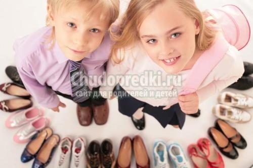 Как выбрать правильную обувь ребенку