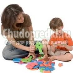 Совместные игры родителей и детей пяти лет