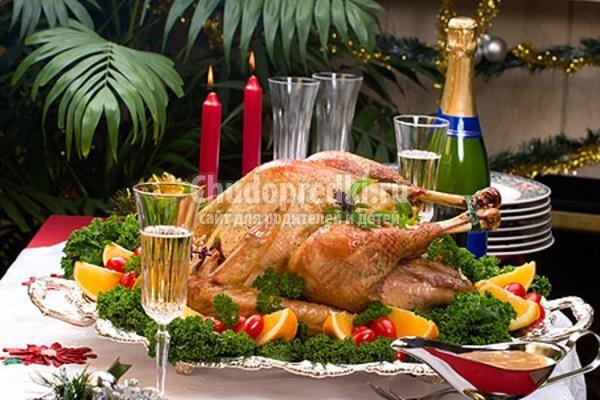 вторые блюда на Новый год 2014
