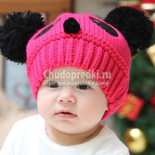вязание шапок для детей Chudopredkiru ребенок и дети