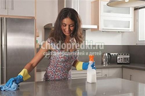 Выбираем моющие средства для кухни