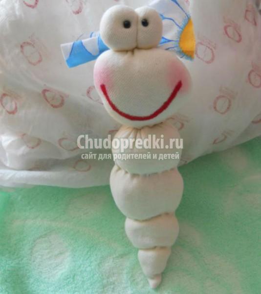 игрушки из ткани своими руками. Бабочка