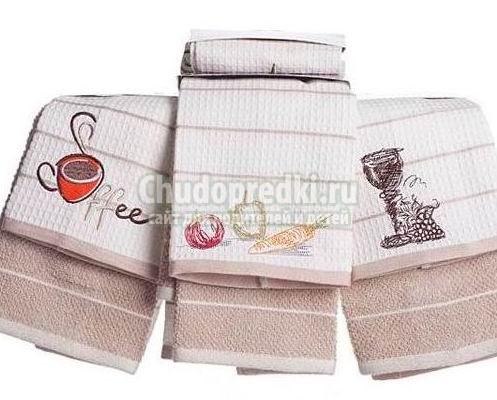 Полотенца для современной кухни