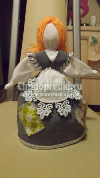 текстильная кукла-перевертыш. Золушка