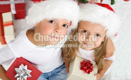 Детские новогодние подарки своими руками