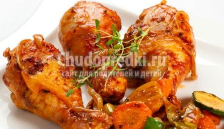 Рецепт курицы в мультиварке