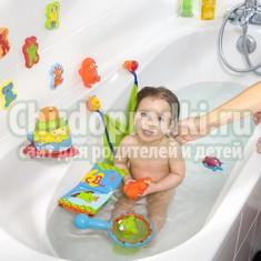 Правильно выбираем игрушки для ванной
