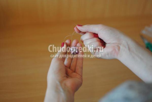 браслет из бисера и бусин своими руками