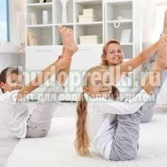 Утренняя гимнастика для дошкольников