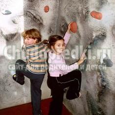 Детский скалодром своими руками