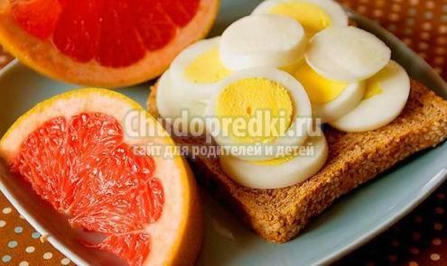 Яичная диета для быстрого похудения