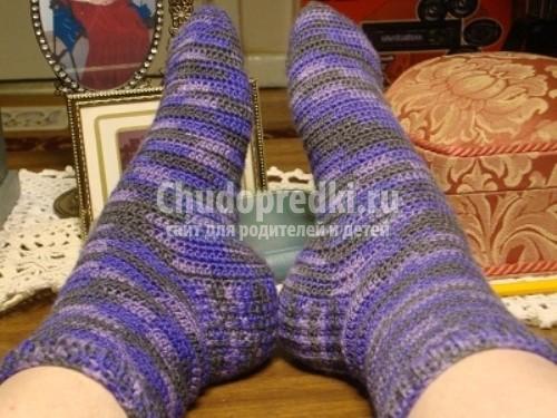 Вяжем носки детям