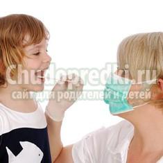 Увеличенные аденоиды у малыша