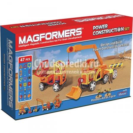 Обзор набора Magformers Power Construction Set