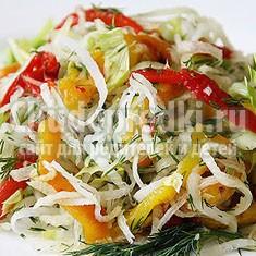Салаты из свежих овощей. Самые простые рецепты рунета