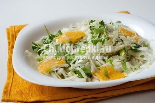 Салат с тунцом, морской капустой и лимонной заправкой, пошаговый рецепт с фото
