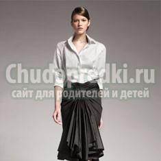 Стиль деловой женщины: блузки и юбки