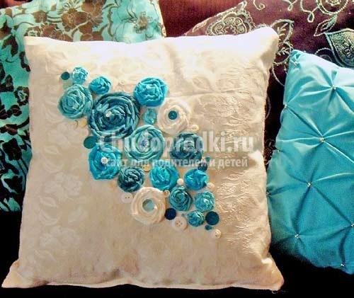 Подушки декоративные своими руками