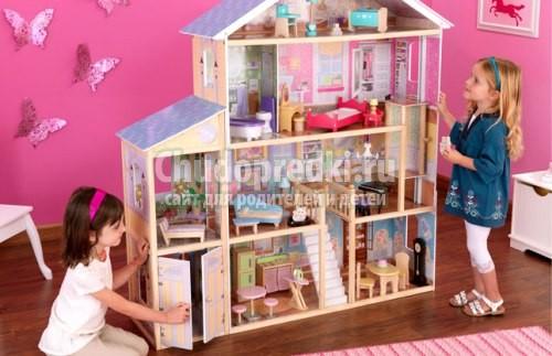 Как сделать домик для кукол