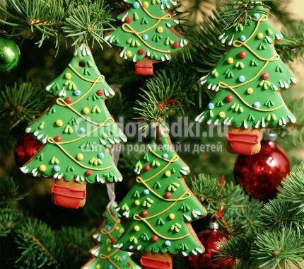 Новогодняя елка. Игрушка своими руками