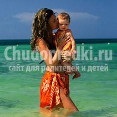 Отдых с маленьким ребенком на море