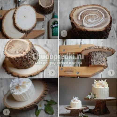 Поделки из дерева своими руками