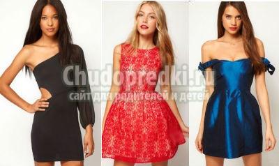 Платья на выпускной 2014 короткие