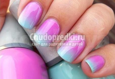 Как можно накрасить ногти красиво и модно