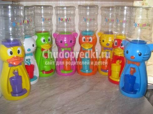 Выбираем детский кулер для воды