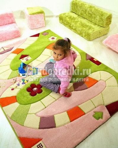 Ковры для детской: выбор и уход