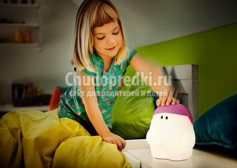Правила освещения в комнатах для детей.
