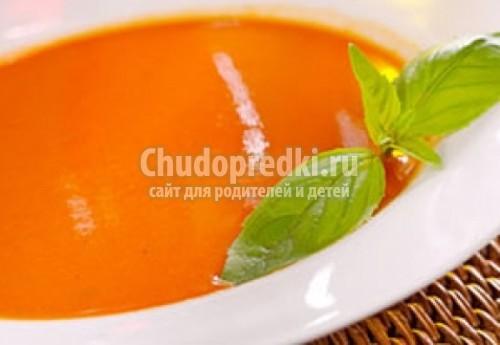 Суп - пюре из тыквы