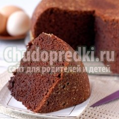 Готовим шоколадный кекс в мультиварке