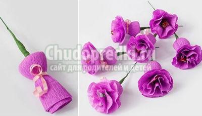 Букет из цветов из конфет своими руками