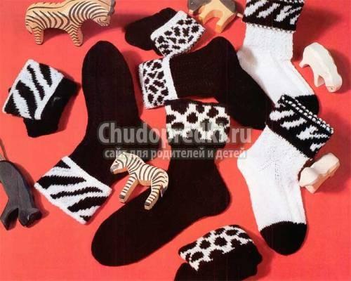 Как вязать пятку носков спицами