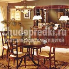 Оформляем гостиную в классическом стиле: мебель