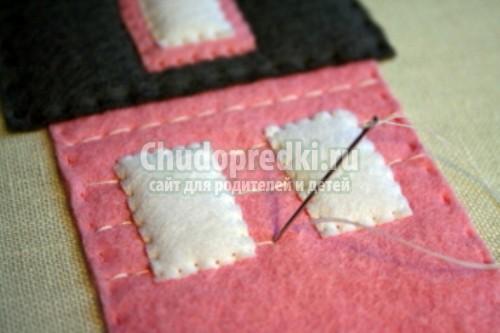 Аппликация из ткани