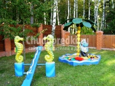 Поделки детской площадки своими руками