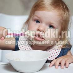 Особенности питания ребенка в 1 год