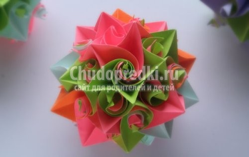 Как сделать оригами из бумаги
