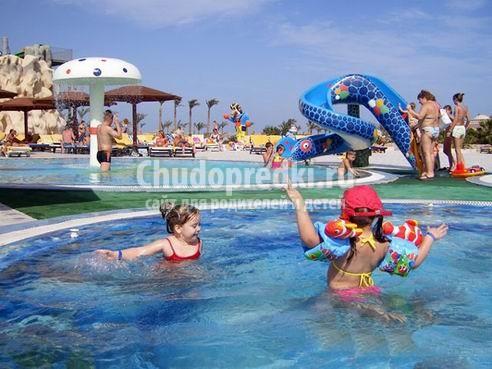 Отели для отдыха с детьми в Египте