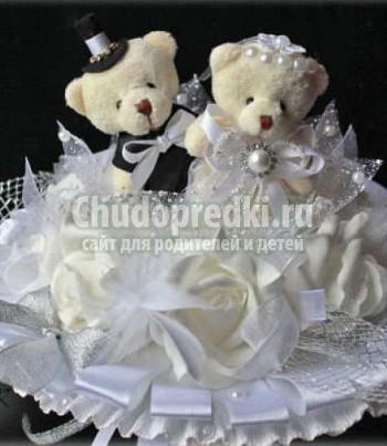 Свадебный букет из игрушек - как сделать своими руками