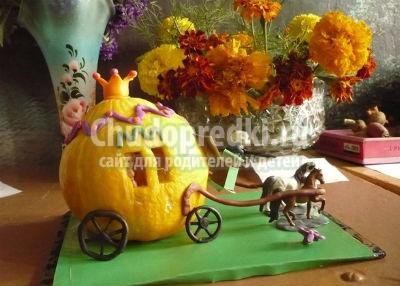 Детские поделки - осень