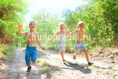 Детские поделки- лето.