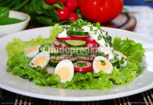 Простые салаты на скорую руку