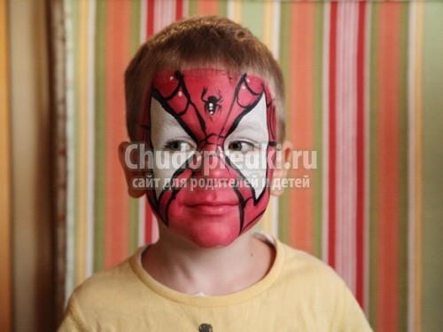 Как сделать человека паука
