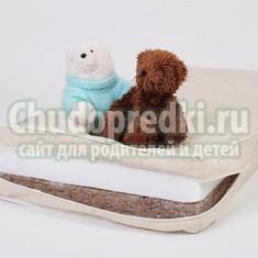 Кокосовый матрас для новорожденного