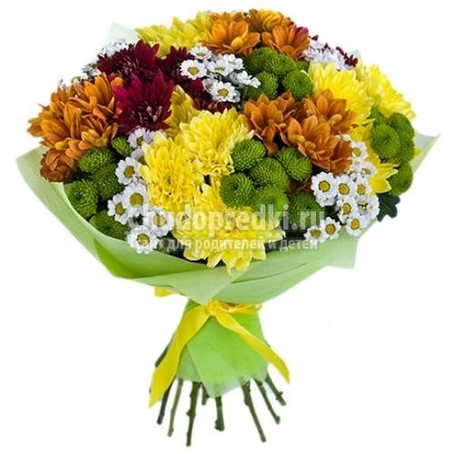 Как сделать букет цветов своими руками
